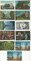 Postcard Lot of 11, Virginia, Williamsburg, Arlington, Berkeley, Tyler, JFZ