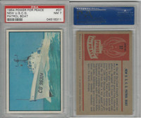 1954 Bowman, Power For Peace, #37 New U.S.C.G. Patrol Boat, PSA 7 NM