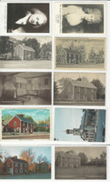Postcard Lot of 10, History J, President John Quincy Adams, Quincy Mass, JFZ