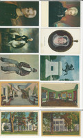 Postcard Lot of 10, History Y, President Andrew Jackson, Hermitage, JFZ