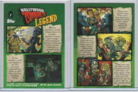 2007 Topps, Hollywood Zombies, #1 Legend, Michael Jackson