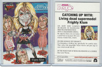 2007 Topps, Hollywood Zombies, #15 Heidi Klum, Frighty Klum