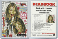 2007 Topps, Hollywood Zombies, #17 Teri Hatcher, Teri Hatchet