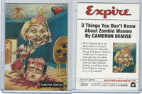 2007 Topps, Hollywood Zombies, #18 Cameron Diaz, Demise