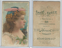N131 Duke, Stars of The Stage, 3rd Series, 1890, Actresses (14)