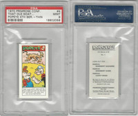 P0-0 Primrose Confectionery, Popeye 4th Series, 1970, #4, PSA 9 Mint