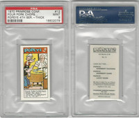 P0-0 Primrose Confectionery, Popeye 4th Series, 1970, #12, PSA 9 Mint