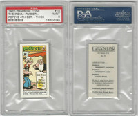 P0-0 Primrose Confectionery, Popeye 4th Series, 1970, #19, PSA 9 Mint