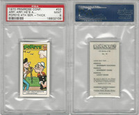 P0-0 Primrose Confectionery, Popeye 4th Series, 1970, #33, PSA 9 Mint