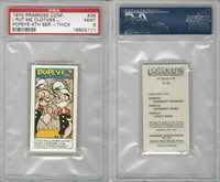 P0-0 Primrose Confectionery, Popeye 4th Series, 1970, #36, PSA 9 Mint