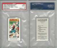 P0-0 Primrose Confectionery, Popeye 4th Series, 1970, #39, PSA 9 Mint