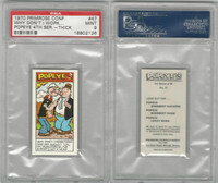 P0-0 Primrose Confectionery, Popeye 4th Series, 1970, #47, PSA 9 Mint