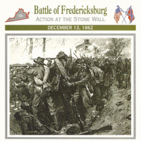 1995 Atlas, Civil War Cards, #01.04 Battle of Fredericksburg Virginia