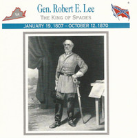 1995 Atlas, Civil War Cards, #01.12 General Robert E Lee