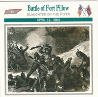 1995 Atlas, Civil War Cards, #02.06 Battle of Fort Pillow, Tennessee