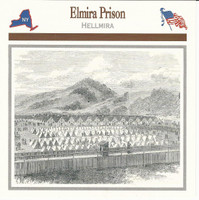 1995 Atlas, Civil War Cards, #03.13 Elmira Prison, New York