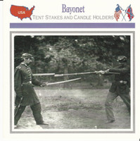 1995 Atlas, Civil War Cards, #03.15 Bayonet