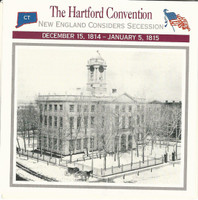 1995 Atlas, Civil War Cards, #05.01 The Hartford Convention, State House