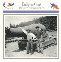 1995 Atlas, Civil War Cards, #05.15 Dahlgren Guns