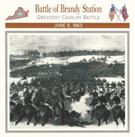 1995 Atlas, Civil War Cards, #06.05 Battle Brandy Station, Virginia
