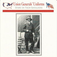 1995 Atlas, Civil War Cards, #07.09 Union General Uniforms, Meade