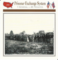 1995 Atlas, Civil War Cards, #08.15 Prisoner Exchange System