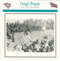 1995 Atlas, Civil War Cards, #08.17 Gregg's Brigade