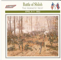 1995 Atlas, Civil War Cards, #10.04 Battle of Shiloh, General Prentiss