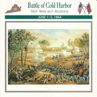 1995 Atlas, Civil War Cards, #10.07 Battle of Cold Harbor, Virginia