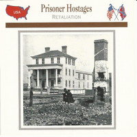 1995 Atlas, Civil War Cards, #10.15 Prisoner Hostages, Charleston