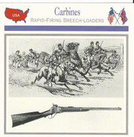 1995 Atlas, Civil War Cards, #20.18 Carbines, Union Cavalry