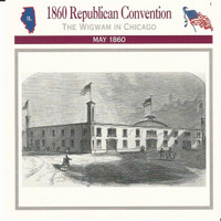 1995 Atlas, Civil War Cards, #21.01 1860 Republican Convention, Chicago