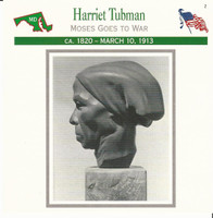 1995 Atlas, Civil War Cards, #21.17 Harriet Tubman, Runaway Slave