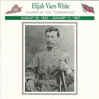 1995 Atlas, Civil War Cards, #25.11 Colonel Elijah Viers White
