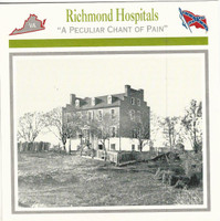 1995 Atlas, Civil War Cards, #25.16 Richmond Hospitals