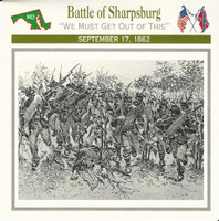 1995 Atlas, Civil War Cards, #26.05 Battle of Sharpsburg, Maryland
