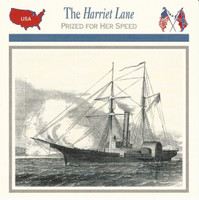 1995 Atlas, Civil War Cards, #27.11 The USS Harriet Lane, Ship