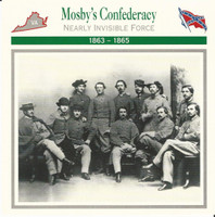 1995 Atlas, Civil War Cards, #28.09 Mosby's Confederacy