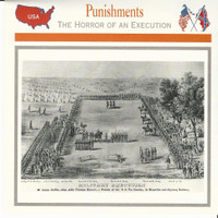 1995 Atlas, Civil War Cards, #29.13 Punishments, Military Execution