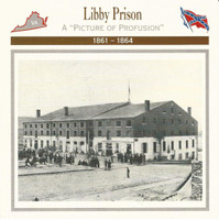 1995 Atlas, Civil War Cards, #30.15 Libbt Prison, Richmond, Virginia