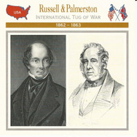 1995 Atlas, Civil War Cards, #31.19 Russell & Palmerston