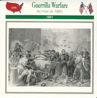 1995 Atlas, Civil War Cards, #34.13 Guerrilla Warfare, Baltimore, Maryland