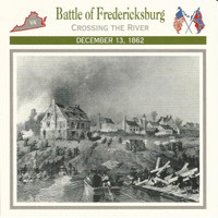 1995 Atlas, Civil War Cards, #37.03 Battle of Fredericksburg, Virginia
