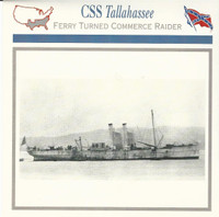 1995 Atlas, Civil War Cards, #37.09 CSS Tallahasee, Ship