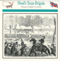 1995 Atlas, Civil War Cards, #37.17 General Hoods Texas Brigade
