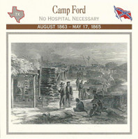1995 Atlas, Civil War Cards, #38.15 Camp Ford Prison, Texas