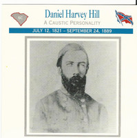1995 Atlas, Civil War Cards, #39.14 General Daniel Harvey Hill