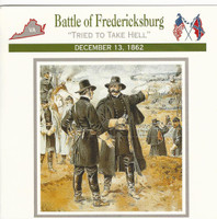 1995 Atlas, Civil War Cards, #50.04 Battle Fredericksburg, General Burnside