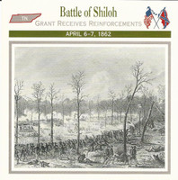 1995 Atlas, Civil War Cards, #50.05 Battle of Shiloh, Tennessee