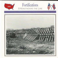 1995 Atlas, Civil War Cards, #50.17 Fortifications